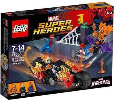 Spiderman 76058 Ghost Rider vstupuje do týmu
