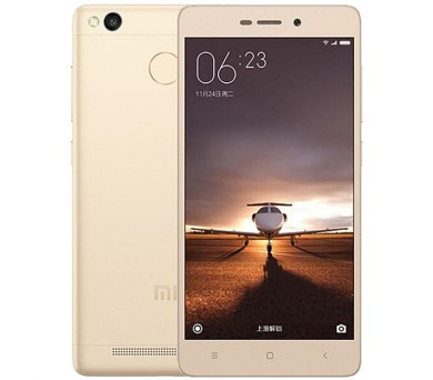 Xiaomi Redmi 3S 32 GB - zlatý