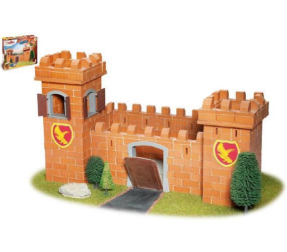 Stavebnice Teifoc Rytířský hrad 460ks v krabici 44x33x11cm + DOPRAVA ZDARMA