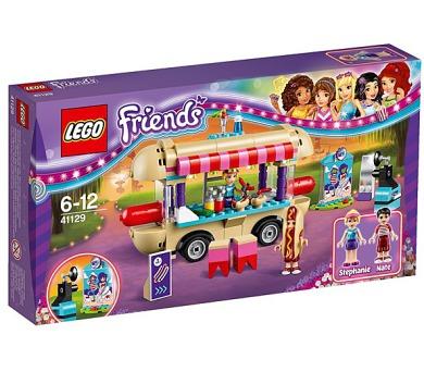 Stavebnice Lego® Friends 41129 Dodávka s párky v rohlíku v zábavním parku