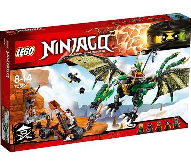 Stavebnice Lego® Ninjago 70593 Zelený drak NRG