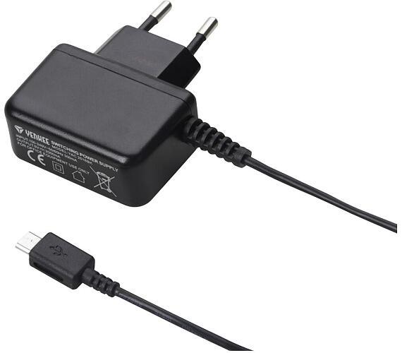 YAC 2016BK Micro USB Nabíječka 2A Yenkee