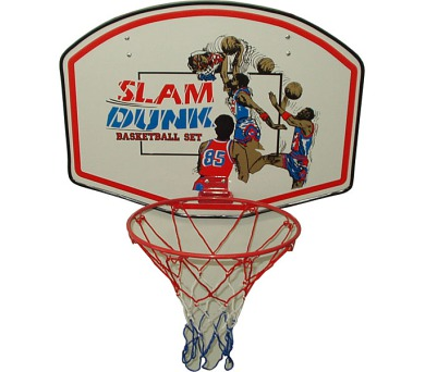 *B* Basketbalová deska 90 x 60 cm s košem