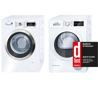 Bosch WAW28740EU + Sušička Bosch WTW85460BY + DOPRAVA A INSTALACE ZDARMA