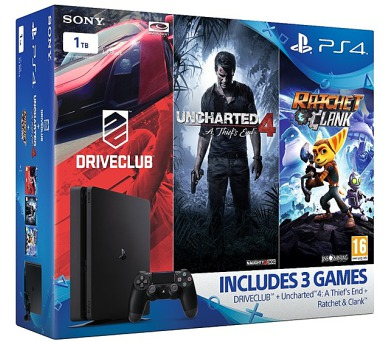 Sony PlayStation 4 SLIM 1TB Family pack