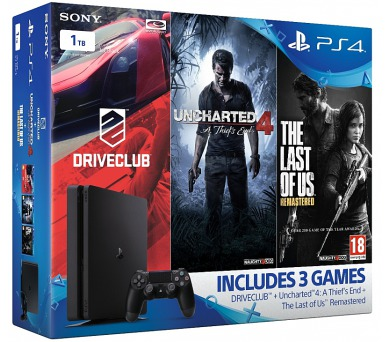 Sony PlayStation 4 SLIM 1TB Gamer pack