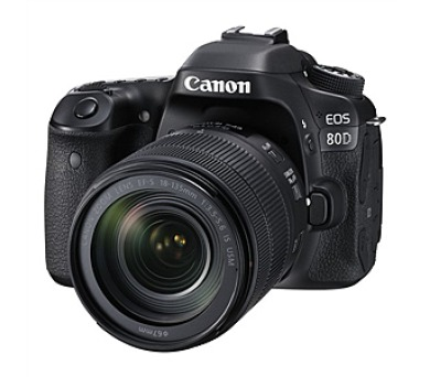 Canon EOS 80D + objektiv 18-135 IS USM + DOPRAVA ZDARMA