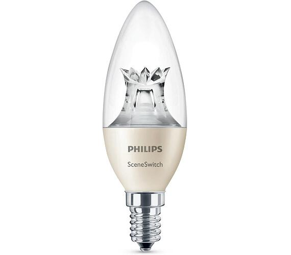 LED SceneSwitch E14 40/20/10W 827 B38 CL Philips 8718696598474