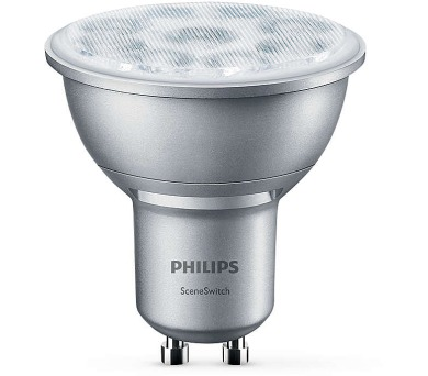 LED SceneSwitch GU10 50/25/10W 827 36D Philips 8718696598580