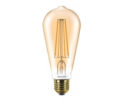 FILAMENT Classic LEDbulb DIM 7-55W E27 825 ST64 Philips 8718696575710