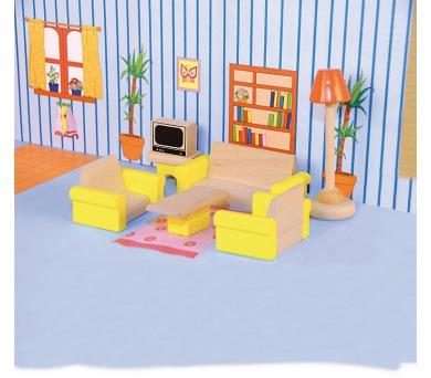 """Nábytek do domečku """"Obývací pokoj"""""""