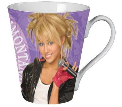 "Porcelánový hrnek ""Hannah Montana"" LICENCE"
