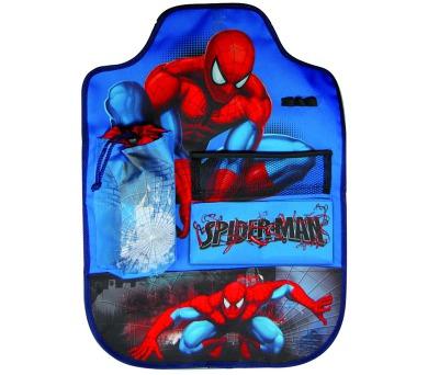 """Chránič sedadla s kapsami """"Spiderman"""" LICENCE"""