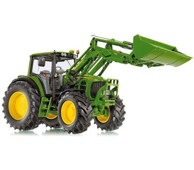 Wiking - traktor John Deere s předním nakladačem
