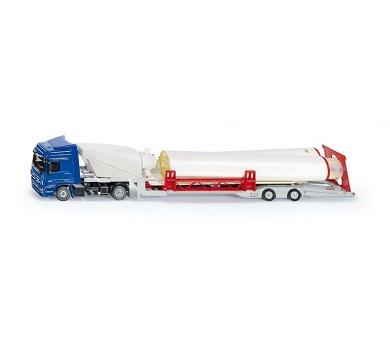 SIKU Super - Kamion s větrnou turbínou + DOPRAVA ZDARMA
