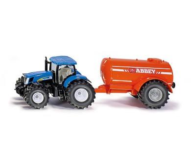 SIKU Farmer - Traktor s cisternou + DOPRAVA ZDARMA