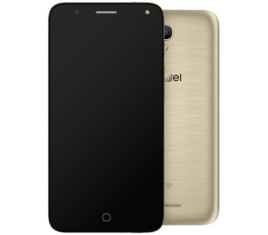 Mobilní telefon ALCATEL POP 4 5051D - zlatý