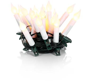 RXL 131 svíčky 20LED 5+5m WW Retlux