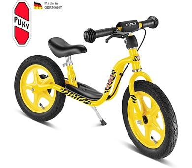PUKY Learner Bike LR 1 BR - žlutá (tygr) + DOPRAVA ZDARMA