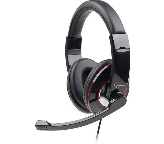 Sluchátka s mik Gembird MHS-U-001 Gaming black