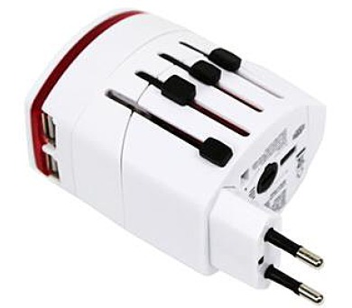 OMEGA 220-250V se dvěma USB porty