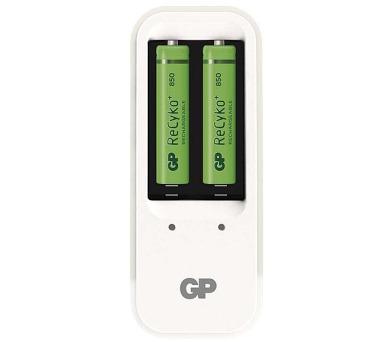 GP PB410 + 2 x AAA ReCyko+ 850mAh