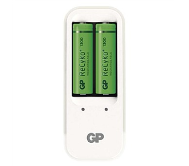 GP PB410 + 2 x AA ReCyko+ 1300mAh