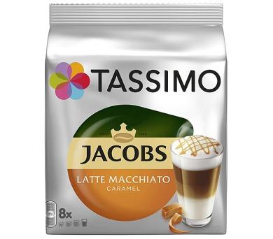 Jacobs Krönung Latte Macchiato Caramel 268g Tassimo 3x