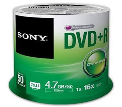 SONY DPR-47; 4.7GB; 16x; 50ks SPINDL