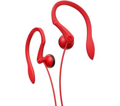 Pioneer závěsná sluchátka červená