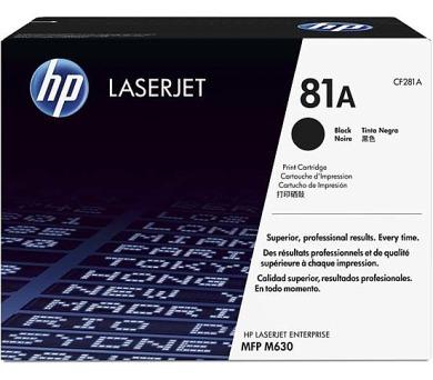 HP 81A tisková kazeta černá + DOPRAVA ZDARMA