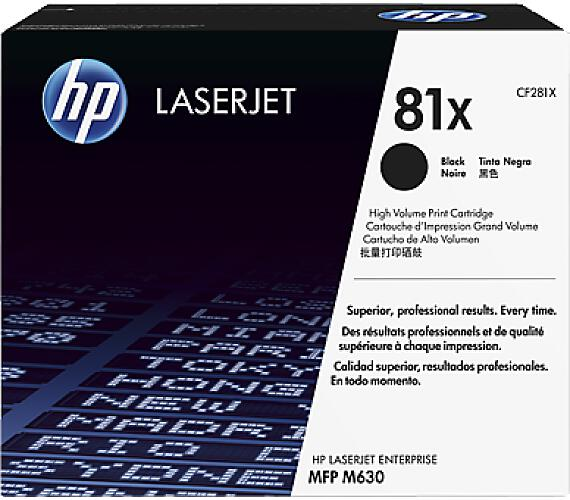 HP 81X tisková kazeta černá velká + DOPRAVA ZDARMA