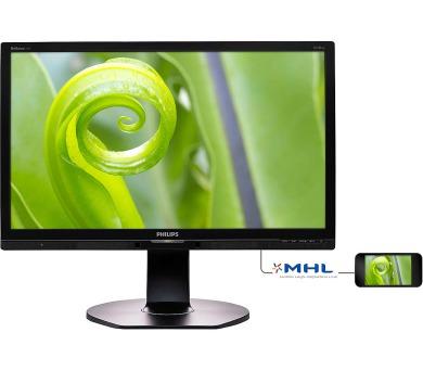 Philips 241P6EPJEB-FHD,IPS,DP,USB,piv,rep + DOPRAVA ZDARMA