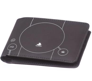 Peněženka: PlayStation 1 konzole - tmavá + DOPRAVA ZDARMA