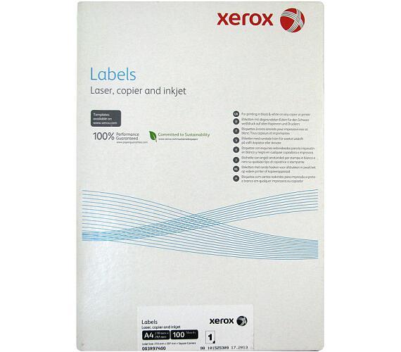 XEROX samolepici štítky A4 100 listu