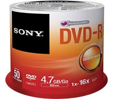 SONY DMR-47; 4.7GB; 16x; 50ks SPINDL