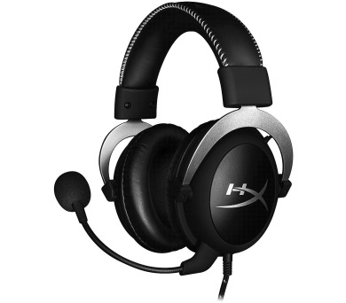 HyperX Cloud X - herní headset stříbrný