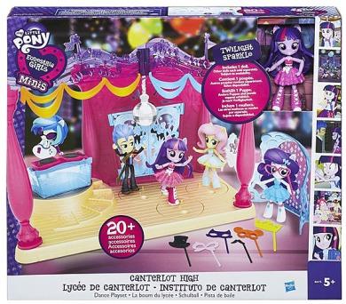 Hasbro Equestria girls malé panenky hrací set - pódium