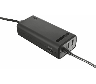 TRUST Duo 90W Laptop charger with 2 USB ports