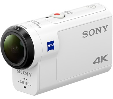 Sony 4K (FHD) kamera FDR-X3000R Action Cam - Live-View sada + DOPRAVA ZDARMA
