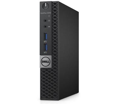Dell PC Optiplex 3046U i3-6100T/4GB/500GB/DP/HDMI/W10P/3RNBD/Černý