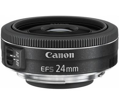 Canon objektiv s pev.ohniskem EF-S 24mm f/2.8 STM