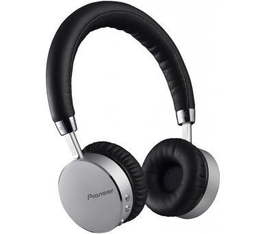 Pioneer sluchátka s BT černostříbrná + DOPRAVA ZDARMA