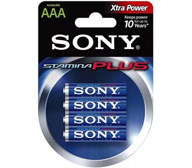 SONY Alkalické baterie AM4B4D