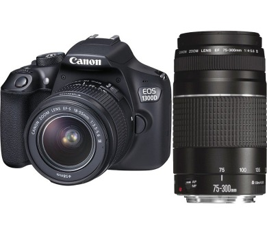 EOS 1300D+18-55DC+75-300DC Canon