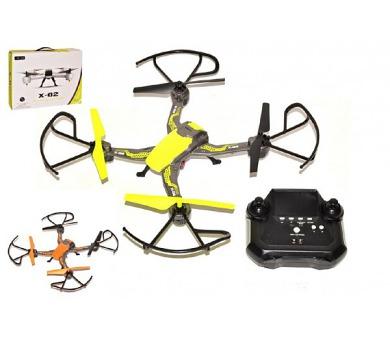 Dron s kamerou RC 35cm plast + USB kabel pro dobíjení v krabici + DOPRAVA ZDARMA