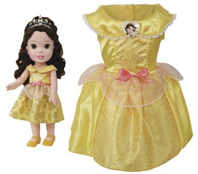 Disney princezna a dětské šaty - Bella/Kráska + DOPRAVA ZDARMA