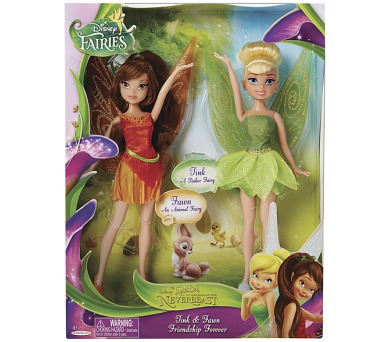 Disney Víly: 2v1 Zvonilka a Fauna 22cm panenka
