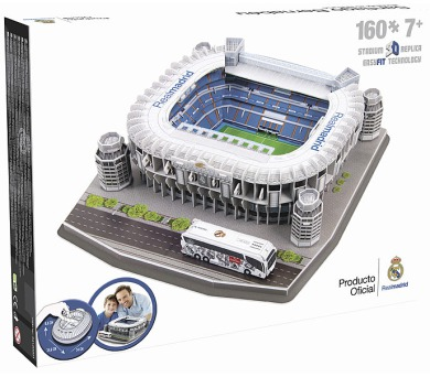 Nanostad: SPAIN - Santiago Bernabeu (Real Madrid) + DOPRAVA ZDARMA