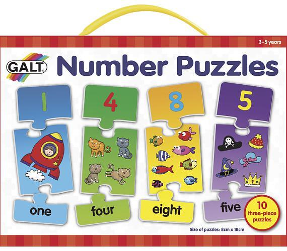 Puzzle – moje první anglické číslice 2.